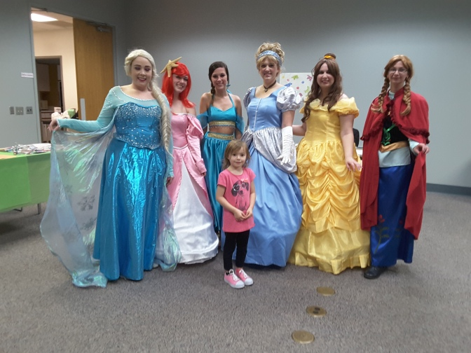 Princesses arrived in Plymouth
